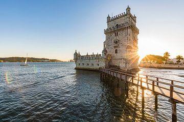 Torre de Belém à Lisbonne sur Werner Dieterich