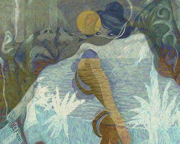 Madame Frou-Frou en Tahiti van Nop Briex