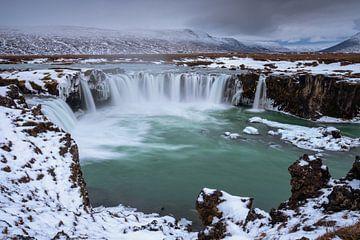 Godafoss waterval - IJsland van Jurjen Veerman
