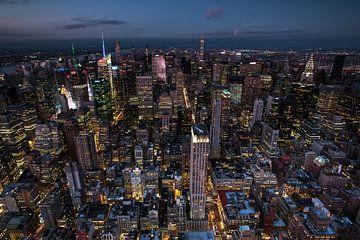 Stadtübersicht New York von
