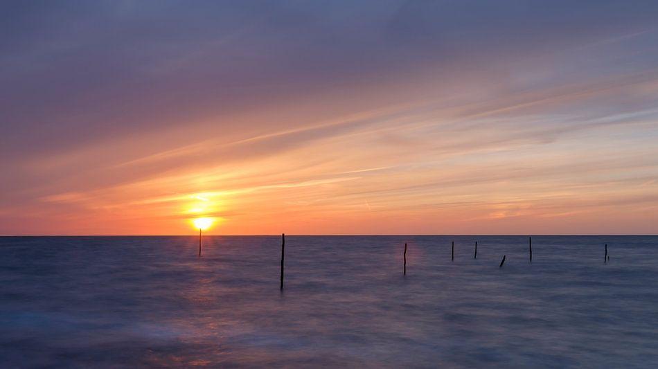 Magische zonsondergang