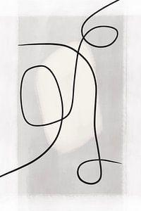 Moderne abstrakte Kunst - Linien 2