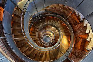 Trap in een toren in Schotland van Dennis Morshuis