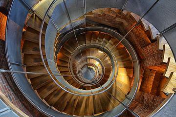 Trap in een toren in Schotland von Dennis Morshuis