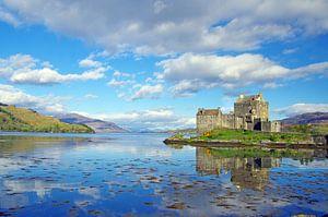 The famous Eliean Donan Castle