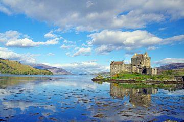 Das Eilean Donan Castle  von Reinhard  Pantke