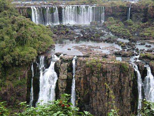 Iguazu watervallen in Brazilië