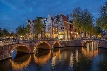 Amsterdamse grachten van Wim Kanis