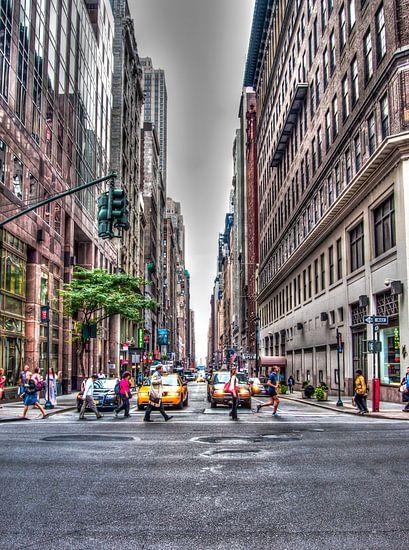 Streets of New York van Alex Hiemstra