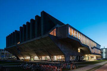 Aula gebouw TU Delft van