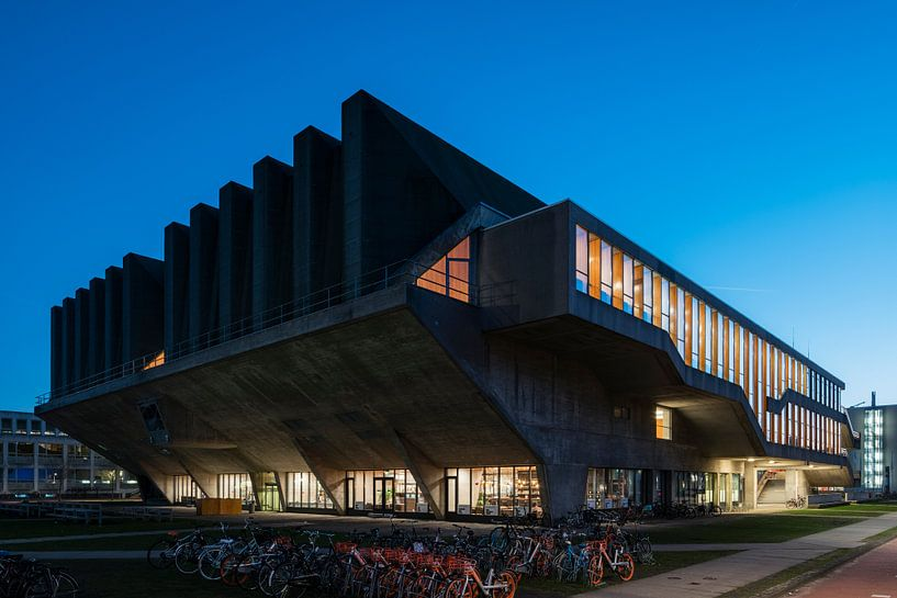 Aula gebouw TU Delft van Raoul Suermondt