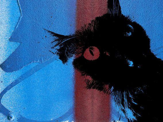 Kattenkunst - Storm 6 van MoArt (Maurice Heuts)