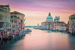 Venetië in het roze van Manjik Pictures