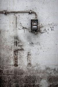 détail usine abandonnée urbex