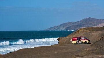 Vakantiebeeld op Fuerteventura, Canarische Eilanden, Spanje. van Harrie Muis