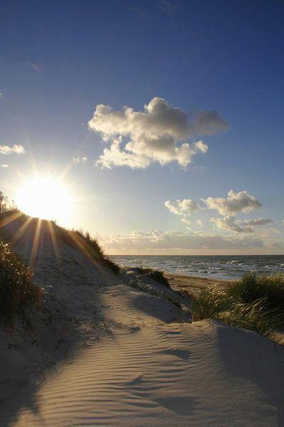 Sonnenstrahlen van Ostsee Bilder