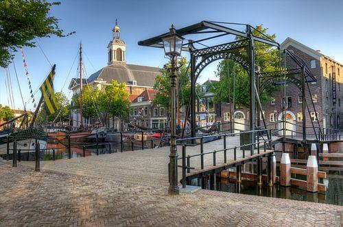 De Taanbrug in Schiedam