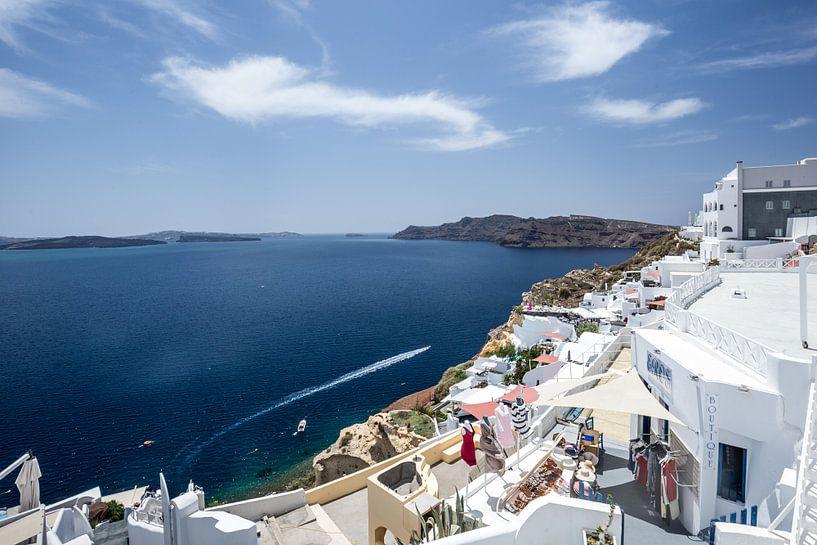 santorini - griekenland van Robin Smit