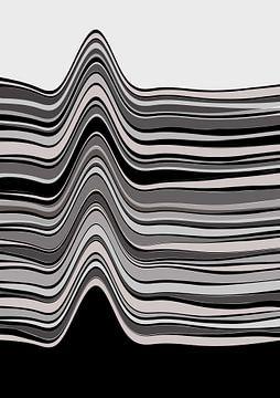 Abstracte samenstelling 908 van Angel Estevez