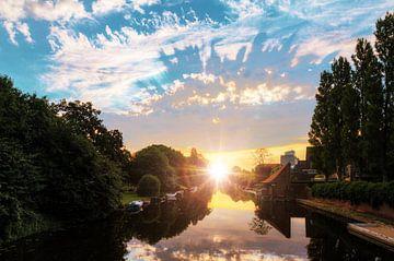 Noorder Amstelkanaal zonsopkomst sur Dennis van de Water