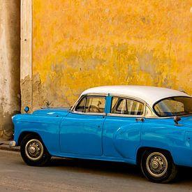 Oldtimer in Cuba van Corrie Ruijer