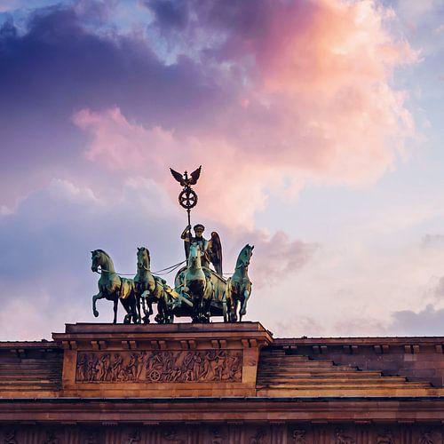 Berlin – Quadriga / Brandenburg Gate van Alexander Voss