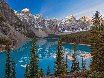 Moränensee Kanada von Erik Noort