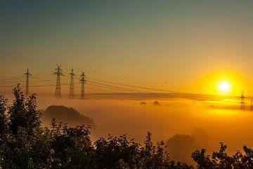 Sonnenaufgang am NOK