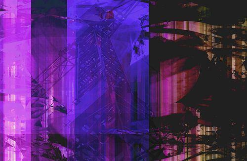 Abstract with crane von Rosi Lorz