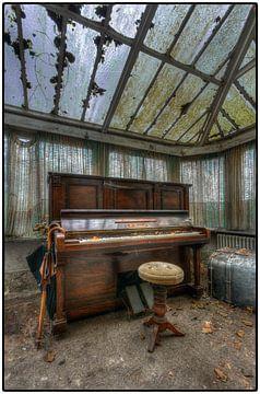 Oude piano van Kurt Dendooven