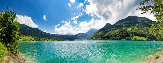Lungernersee panorama van Dennis van de Water