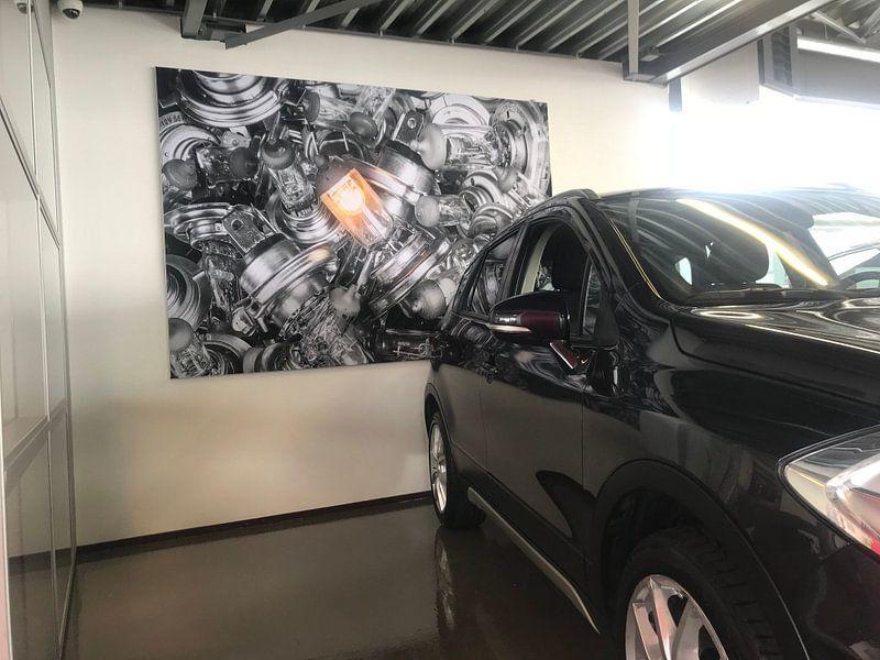 Klantfoto: Auto voskuilen van Rene Jacobs