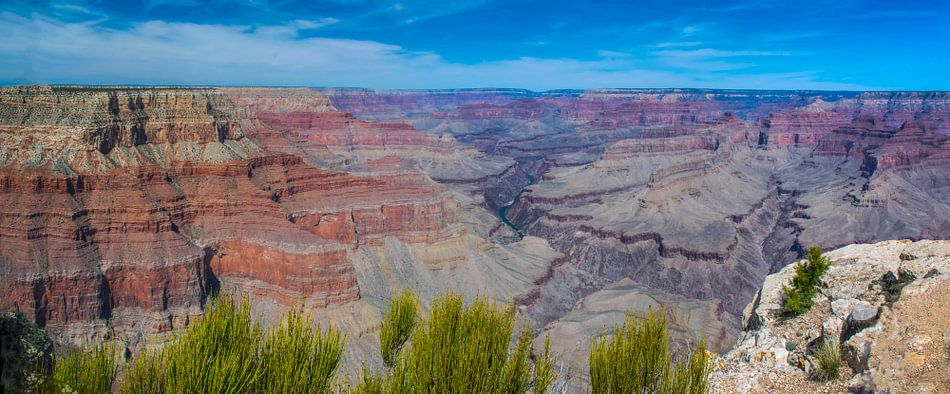 Panoramafoto van de Grand Canyon