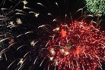 Vuurwerk van Anouk Davidse