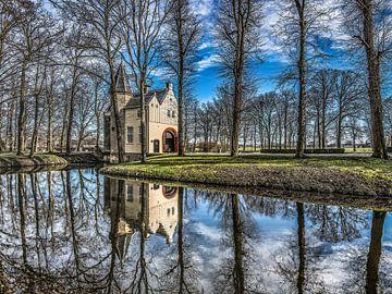 Epema State in Friesland op een stille winterdag von Harrie Muis