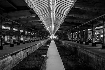 Industriebrache / Bahnhof von Norbert Sülzner
