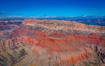 des vues spectaculaires sur le Grand Canyon, Amérique sur Rietje Bulthuis