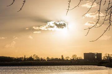 Zonsondergang van Carla Eekels