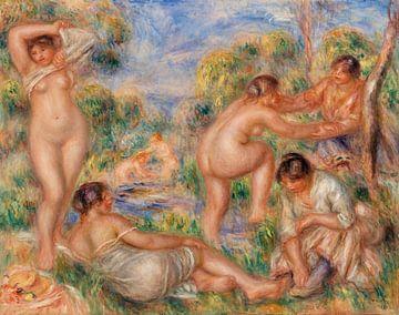 Renoir, Badende Gruppe (1916) von Atelier Liesjes