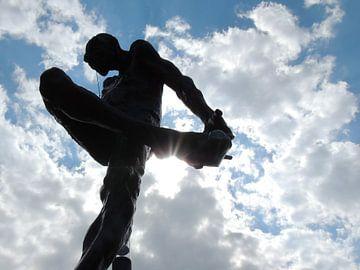 standbeeldje in Aalst van Nadine Geerinck
