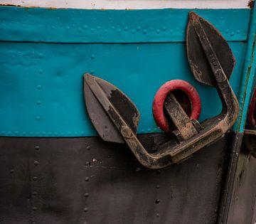 Schepen in de haven. van scheepskijkerhavenfotografie