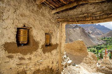 Lamayuru klooster in Ladakh, India van Jan Fritz