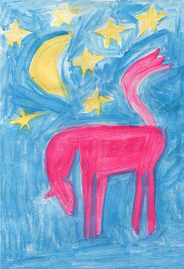 paard, maan en sterren