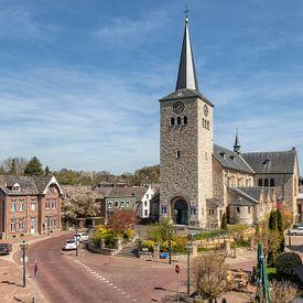 Kerkplein In Simpelveld sur John Kreukniet