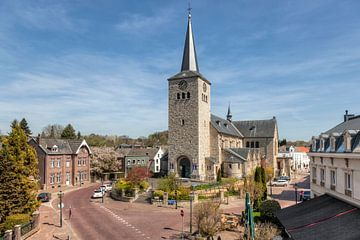 Kerkplein In Simpelveld van John Kreukniet