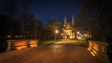 Cellebroederspoort - Kampen, Nederland van Paul Kaandorp