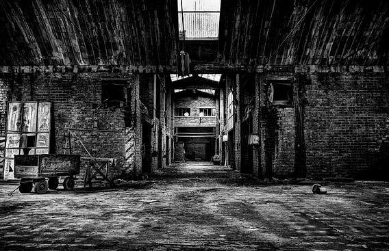 Leegstaande Baksteenfabriek