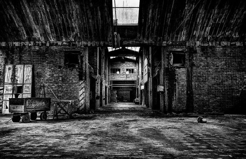 Leegstaande Baksteenfabriek van Eus Driessen
