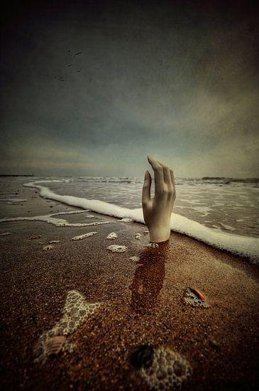 Digitaal - Drowning 1 van Angelique Brunas