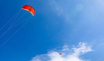 Drachen in der Luft 3 von Percy's fotografie